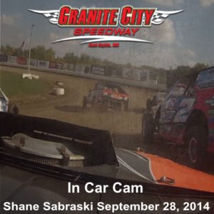 In Car Camera - Shane Sabraski at Granite City Speedway