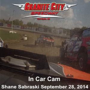 In Car Camera - Shane Sabraski at Granite City Speedway