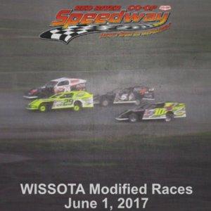 WISSOTA Modified Races June 1, 2017
