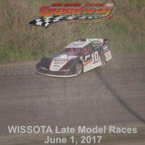 WISSOTA Late Model Races June 1, 2017
