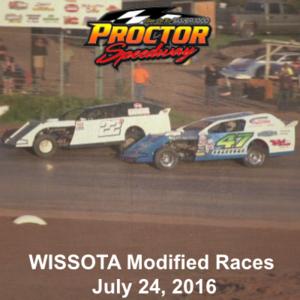 WISSOTA Modified Weekly Racing