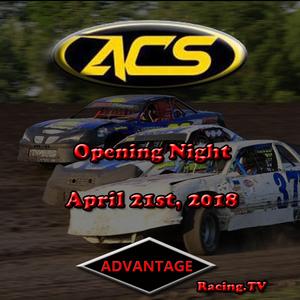 Adams County Speedway, Opening Night