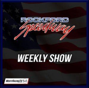 Rockford Speedway Weekly Program: Nick's Beatin & Bangin Boat Race