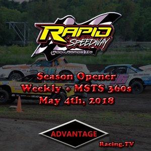 Season Opener, Weekly + MSTS 360 Sprint Cars