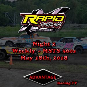 Night 2, MSTS 360 Sprint Car + USRA Weekly Series