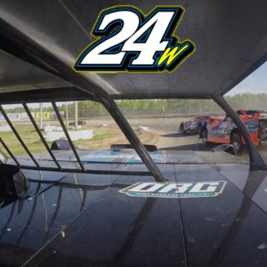In Car Camera - Chris Wark at Granite City Speedway