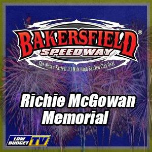 Bakersfield Speedway Richie McGowan Memorial