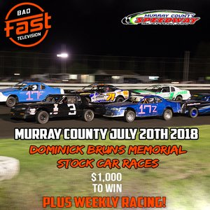 Brun's Memorial - Murray County - $1,000 To Win IMCA Stock Cars!