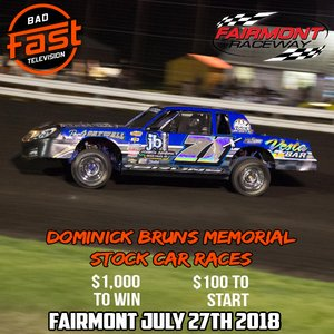 Brun's Memorial - Fairmont, MN - $1,000 To Win IMCA Stock Cars, and increased purse for Sportmods!