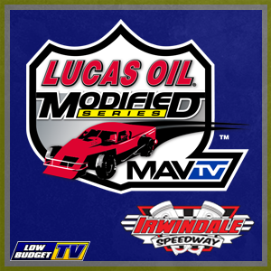 Lucas Oil Modifieds at Irwindale Speedway 8/18/18