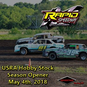 Rapid Speedway Hobby Stock:  Season Opener May 4th, 2018