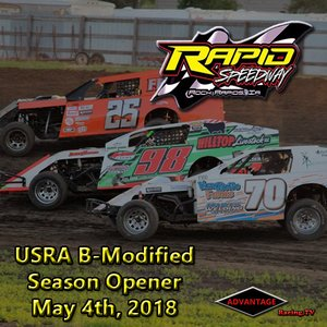 Rapid Speedway B-Modified:  Season Opener May 4th, 2018