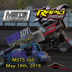 Rapid Speedway MSTS 360 Sprint Car:  May 18th, 2018
