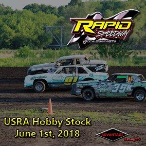 Rapid Speedway Hobby Stock:  June 1st, 2018