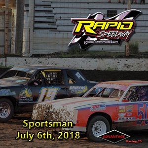 Rapid Speedway Sportsman:  July 6th, 2018