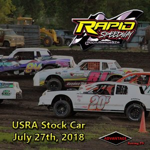 Rapid Speedway Stock Car:  July 27th, 2018