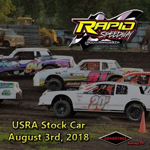 Rapid Speedway Stock Car:  August 3rd, 2018