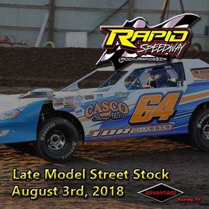 Rapid Speedway LMSS:  August 3rd, 2018