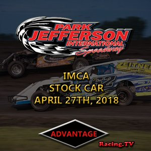 Park Jefferson Stock Car:  April 27th, 2018