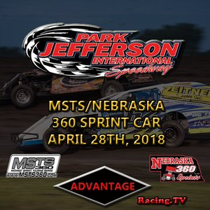 Park Jefferson MSTS/Nebraska 360 Sprint Car:  April 28th, 2018
