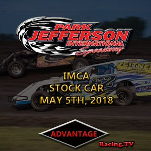 Park Jefferson Stock Car:  May 5th, 2018