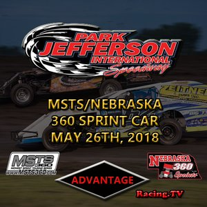 Park Jefferson MSTS/Nebraska 360 Sprint Car:  May 26th, 2018