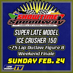 Super Late Model ICE CRUSHER 150