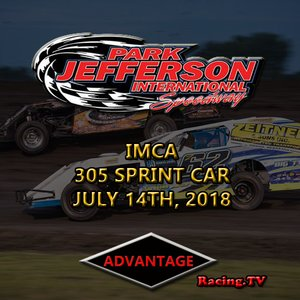 Park Jefferson 305 Sprint Car:  July 14th, 2018