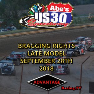 US 30 Speedway Late Model:  September 28th, 2018