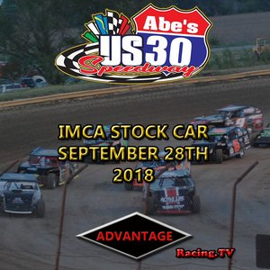 US 30 Speedway Stock Car:  September 28th, 2018