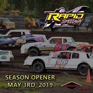Rapid Speedway:  USRA Season Opener May 3rd, 2019