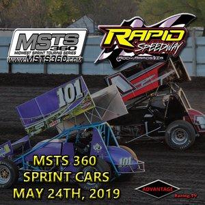 Rapid Speedway:  MSTS 360 Sprint Car + USRA Weekly May 24th, 2019
