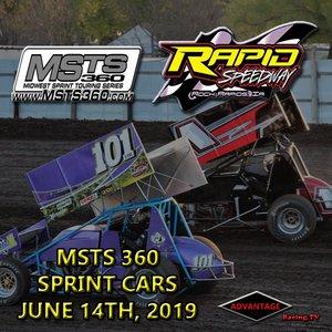 Rapid Speedway:  MSTS 360 Sprint Car + USRA Weekly June 14th, 2019