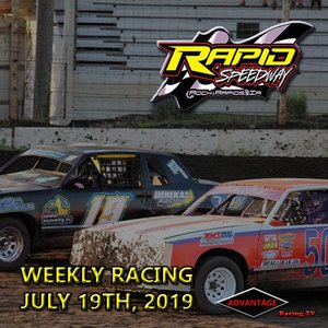 Rapid Speedway:  USRA Weekly July 19th, 2019