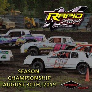 Rapid Speedway:  Season Championship August 30th, 2019