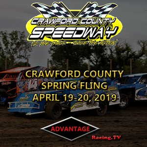 Crawford County Speewday:  Spring Fling Night #1 April 19th, 2019