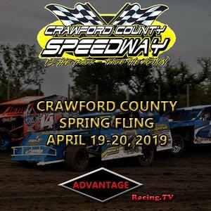 Crawford County Speedway:  Spring Fling Night #2  April 20th, 2019