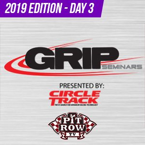 2019 GRIP Seminars - Shocks & Suspension - #9