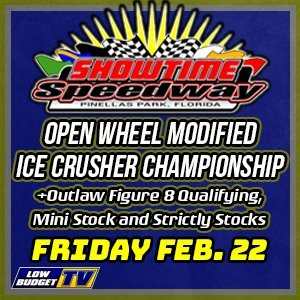 Open Wheel Modifieds ICE CRUSHER