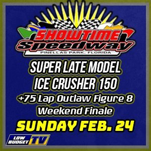 Super Late Model ICE CRUSHER 150
