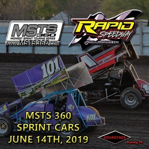 Rapid Speedway:  MSTS 360 Sprint Car + USRA Weekly June 14th, 2019