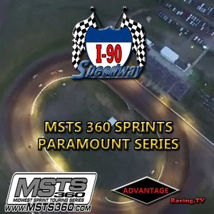 I-90 Speedway:  Firework Special with MSTS 360 Sprint Cars