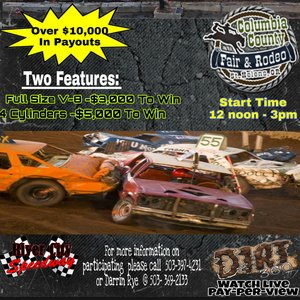 Columbia county Fairgrounds Demolition Derby