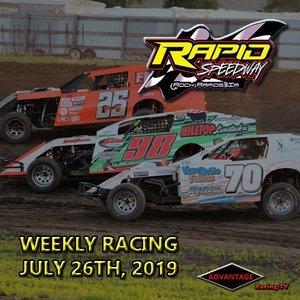 Rapid Speedway:  USRA Weekly July 26th, 2019