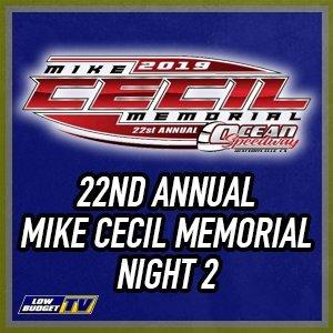 Ocean Speedway Cecil Memorial Night 2