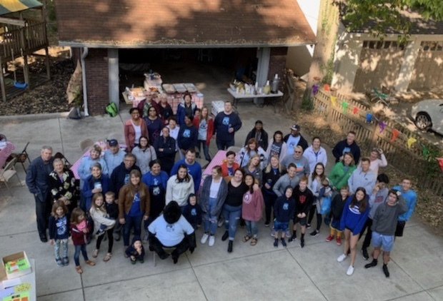 Jack Klein's friends and family gathered to celebrate his 14th birthday