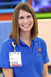 Certified Child Life Specialist Krista Hauswald