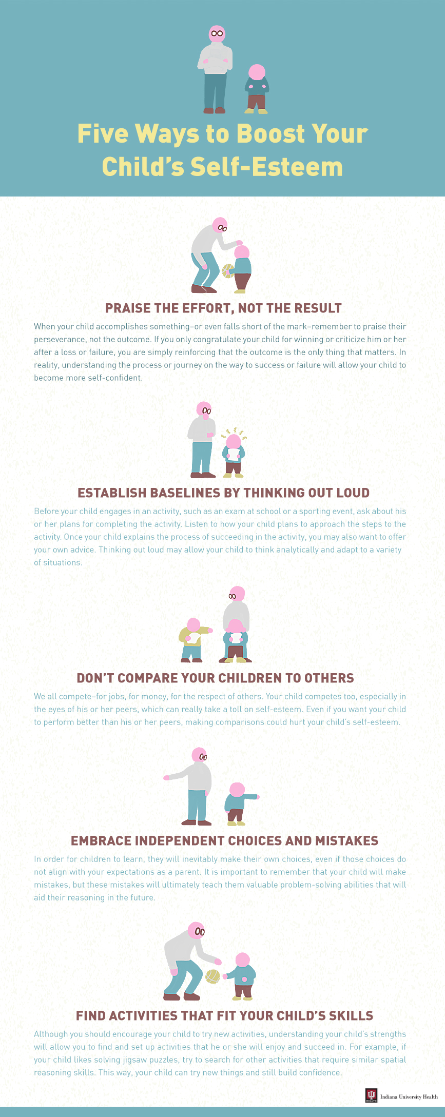 Five Ways to Boost Your Child's Self-Esteem