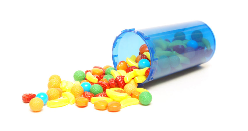 Candy Pills Craft