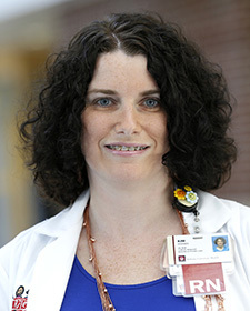 Kim Hodges, Manager of Clinical Operations in the Pediatric Intensive Care Unit